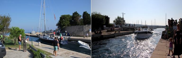 Dieser kleine Kanal trenn die Insel Cres von Losinj, ein besttripp